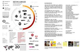 Kevin Airgid Infographic Resume Business Infographics