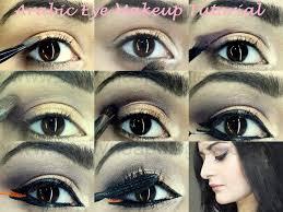 arabic bold eye makeup tutorial step by step