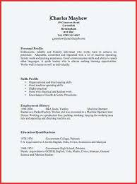 Quick Resume Template Easy Free Resume Template Best Of Free Quick