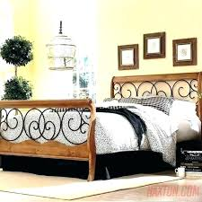 rod iron bed frame queen – apdpc.co