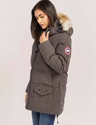 Canada Goose Solaris Parka Jacket Grey For Women D63b4858