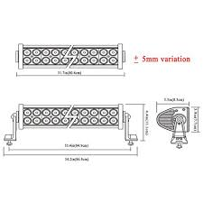 penton light bar wiring diagram penton image amazon com penton 180w 34 inch led work light bar offroad for suv on penton light