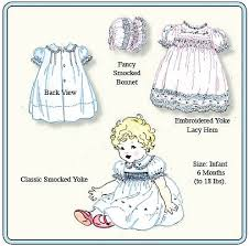 Baby Dress Patterns Mesmerizing Emma's Smocked Baby Dresses Pattern