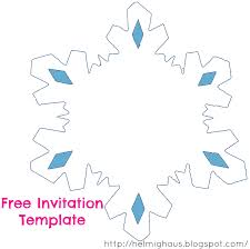 Blank Snowflake Template Planning A Quinceañera Party Creating The Save The Date