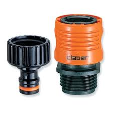 full image for claber 8458 faucet to garden hose quick connector connect garden hose to kitchen