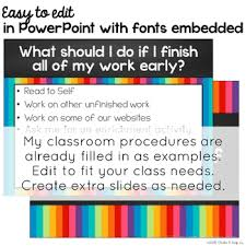classroom procedures powerpoint memes editable by chalk classroom procedures powerpoint memes editable