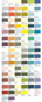 Bs4000 Colour Chart Jawel Paints
