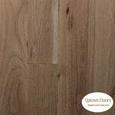 light brown grey wire brushed hickory hardwood