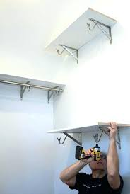closet rod installation how to install closet rod and shelf closet rod and shelf installation ideas