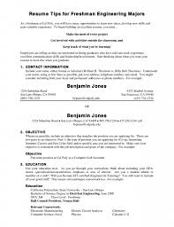 Resume Examples For College Freshmen 38402 Communityunionism