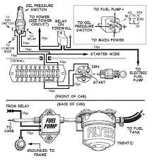 electric fuel pump how to do it right hot rod wiring an electric fuel pump diagram