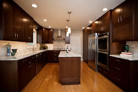 Kitchen Recycling Center Naperville Contemporary River Oak Cabinetry Design
