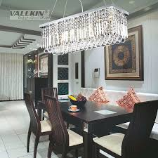 rectangular crystal chandeliers hot modern rectangular crystal chandelier dining room length and inspiring dining room crystal