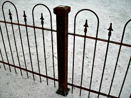 square metal fence post. Heavy 3 Square Iron Fencing Post And For Driveway Gates Click To Enlarge. Metal Fence