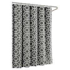 black shower curtains. Lenox Cotton Luxury 72 In. W X L Shower Curtain In Charcoal Black Curtains .