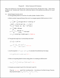 online homework solutions physics online homework  this preview has intentionally blurred sections sign up to view the full version