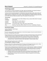 Technology Officer Sample Resume Free Sample Technical Officer Resume Hr Generalist Download Fresh 18