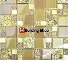 flower mosaic tile backsplash yellow gold glass mosaic kitchen wall tile resin flower mosaic tiles bathroom flower mosaic tile backsplash glass