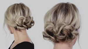 Updo Hairstyles For Short Hair Youtube