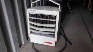 large electric space heater watt v phase lot 445 large electric space heater 15 000 watt 600v 3 phase
