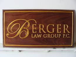 m3000 law firm mahogany sign engraved with gold leaf gilding gallery 10