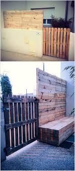 Wood Pallet House Best 25 Pallet Gate Ideas On Pinterest Fence Gate Diy Backyard