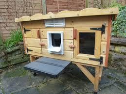outdoor cat shelter building plans designs