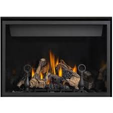 napoleon hd40 40 inch high definition direct vent natural gas fireplace gas log guys
