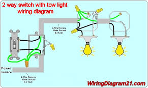 2 way light switch wiring diagram house electrical wiring diagram Wiring Diagram For Two Lights And One Switch 2 way light switch wiring diagram electrical circuit schematic how to wire one switch tow light wiring diagram for two lights one switch