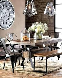 industrial kitchen table furniture. Industrial Kitchen Table Furniture Warm Dining Room Chairs Lighting Lights A