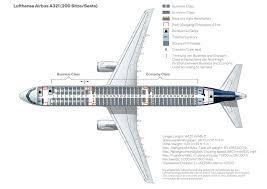 Aircraft A321 Seating Chart Seat Map A321 200 Lufthansa Magazin