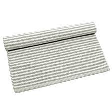 description stripe rug large grey