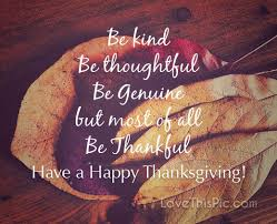 Thanksgiving Quotes Beauteous Be Kind Thanksgiving Quote Pictures Photos And Images For Facebook