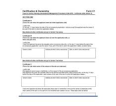 47 Certificate Of Ownership Templates Instant Download