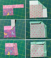 How to make mitered corners on quilt binding | Sewing | Pinterest ... & Bewildered about binding? Here's a clever way to remember all those  peculiar folds: paper Adamdwight.com
