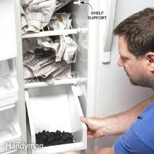 refrigerator door gasket. how to replace a refrigerator door gasket family handyman clean stinky fridge