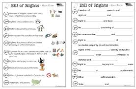 Bill of Rights activities... | History & Geography | Pinterest ...