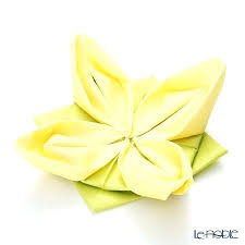 Paper Napkin Folding Flower Origami Napkins