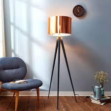 full size of light retro tripod studio floor lamp teamson versanora romanza with copper shade antique