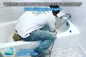 bathtub refinishing reglazing sunland tujunga