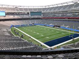 Giants Stadium Football Seating Chart Metlife Stadium View From Mezzanine 206a Vivid Seats