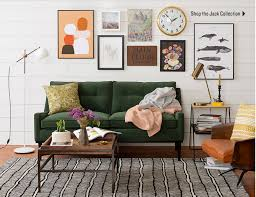 fun living room furniture. A Fun Mixed Gallery Wall With Clock From Schoolhouse Electric Living Room Furniture U