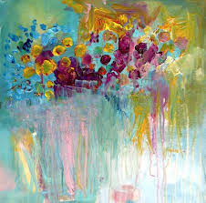 beautiful abstract paintings 27 best art images on art flowers painting flowers
