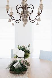 french country chandelier or italian chandelier from lighting connection for a farmhouse dining room with white