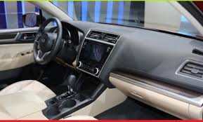 2018 subaru legacy interior. perfect interior for a luxury car legacy has not equipped the interior with leather so it  looks simpler when compared some other cars in its class 2018 subaru legacy l