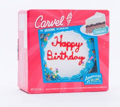 Carvel Ice Cream Birthday Cake 56 Fl Oz Bjs Wholesale Club