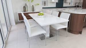 4 8 seater white gloss dining set