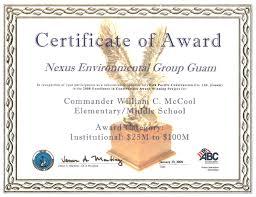 Sample Certificate Award 2019 Award Certificate Fillable Printable Pdf Forms