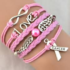 infinity love bracelet. infinity love bracelet - cancer support