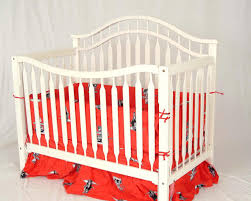 texas tech red raiders crib bedding set